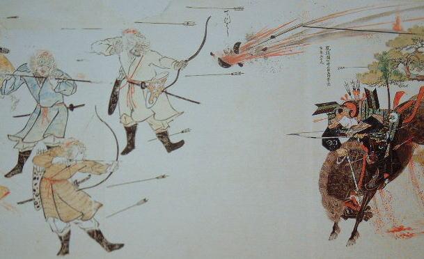 蒙古襲来絵詞(宮内庁所蔵)
